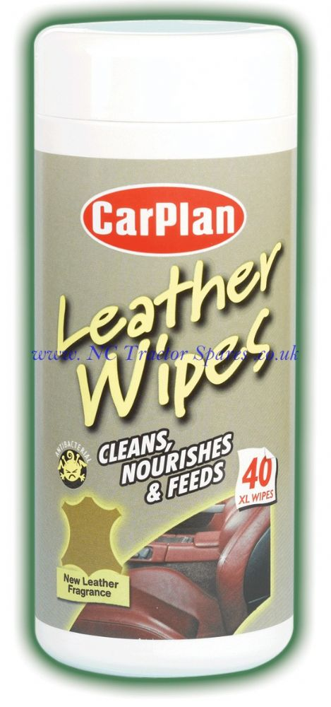 Carplan Leather Wipes Tub 40